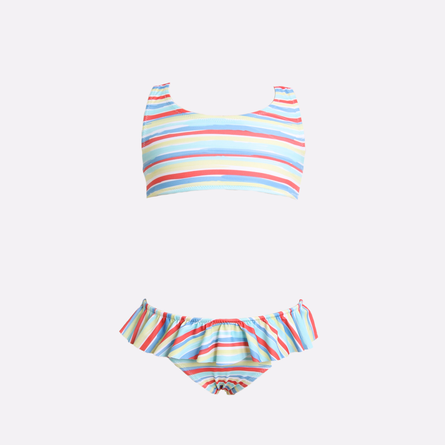 Bikini country stripes