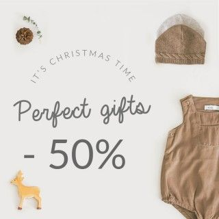 It's Christmas time | Perfect gifts -50%