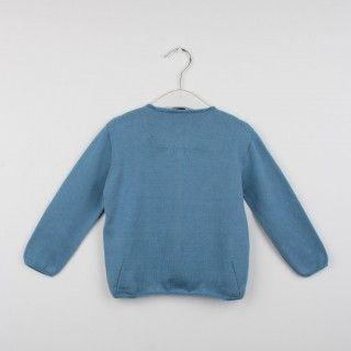 Casaco tricot decote redondo 5608304769743