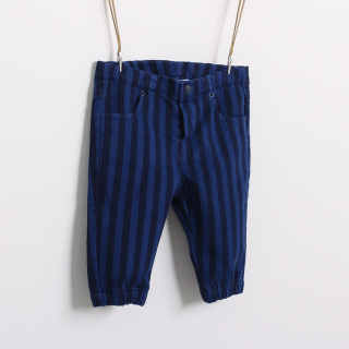 Striped pants with elastic waist 5608304982777