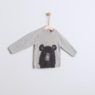 Sweater boy wool Mr. Bear 5609232369180