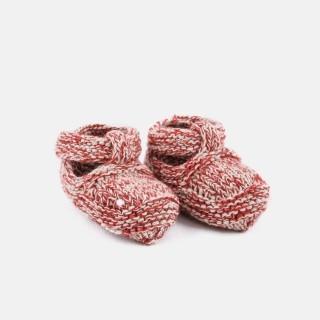 Botinhas recém-nascido tricot Viking 5609232152287