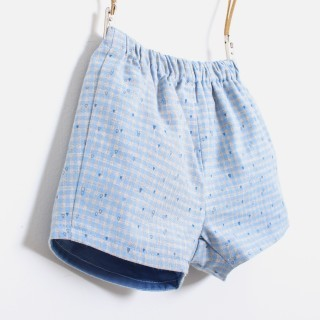 Baby shorts flannel Island Check 5609232135501