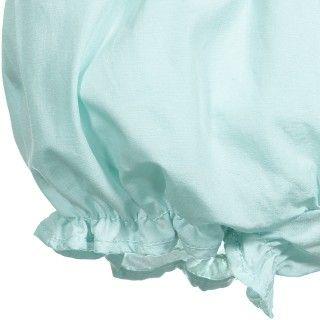 Calções bebé algodão Folhos 5609232198940