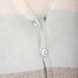 Casaco bebé tricot Stripes 5609232197752