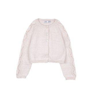 Bolero menina tricot Clara 5609232233054