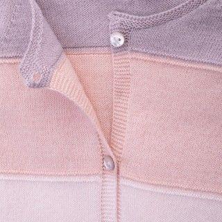 Casaco bebé tricot Echo Rose 5609232265659