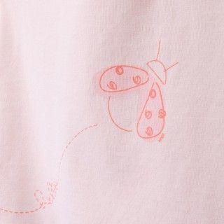 T-shirt manga curta bebé algodão Ladybug 5609232309124