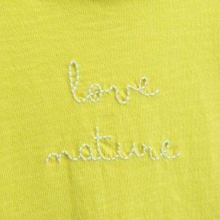 Girl short sleeve t-shirt cotton Love Nature 5609232331804