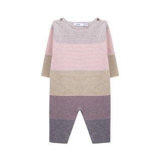 Newborn knitted overalls Mihoko 5609232363607