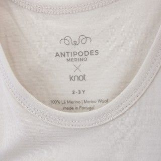 Sleeveless merino wool t-shirt 5609232391013