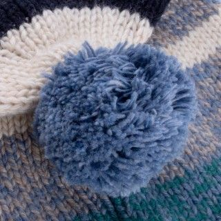 Boy knitted hat Minoru 5609232371565