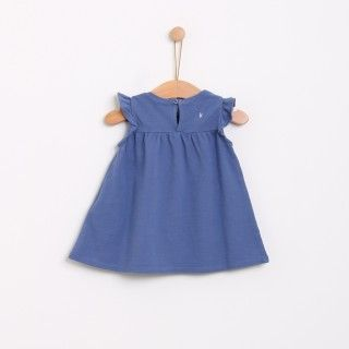 Piquet frill dress 5609232464281