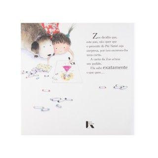 "Book ""Zoe""s Christmas List"" 5609232479322"