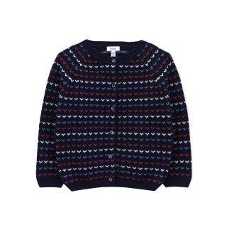 Casaco menina tricot Yokina 5609232371756