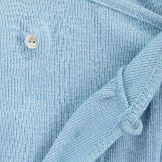 Babygrow recém-nascido algodão orgânico Botão 5609232418871
