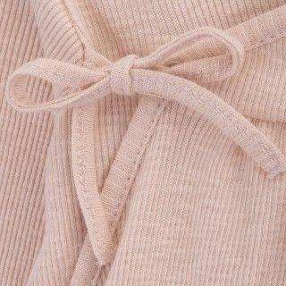 Babygrow recém-nascido algodão orgânico Laço 5609232418949