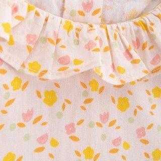 Blusa bebé algodão orgânico Flower Power 5609232422236