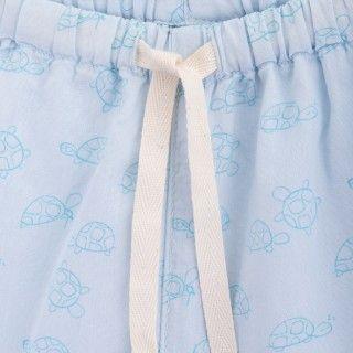 Calções bebé algodão orgânico Turtles 5609232421307