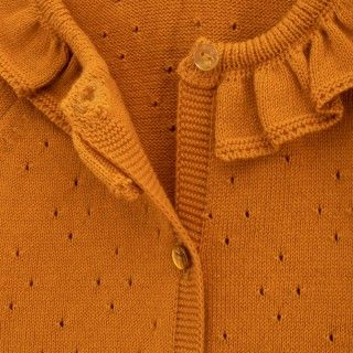 Baby coat knitted Deanna 5609232417782