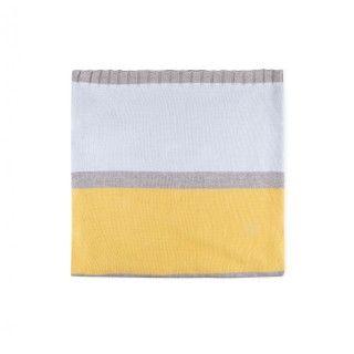 Manta recém-nascido tricot Bloom Stripes 5609232450376