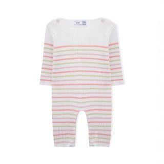 Macacão recém-nascido tricot Love Stripes 5609232450277