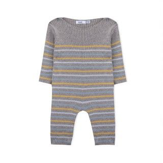 Macacão recém-nascido tricot Evolution Stripes 5609232450338