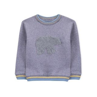 Boy sweatshirt organic cotton Urso Polar 5609232413012