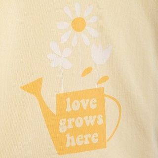 T-shirt manga curta bebé algodão orgânico Regador 5609232424513