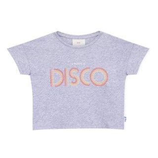 T-shirt manga curta menina algodão orgânico Disco 5609232413456