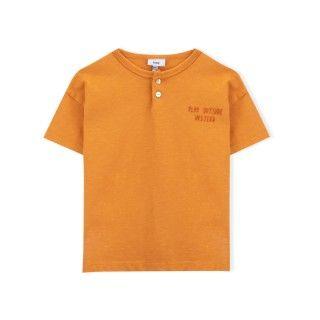 T-shirt manga curta menino algodão orgânico Brincar na rua 5609232413722
