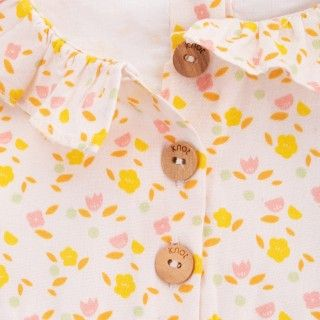 Baby dress organic cotton Flower Power 5609232423660