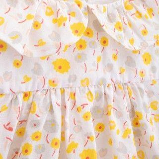 Baby dress organic cotton Groovy Flowers 5609232423820