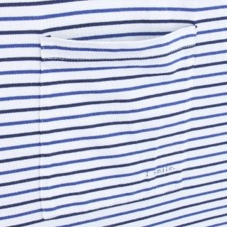 T-shirt Pai manga curta algodão orgânico Skipper 5609232480076