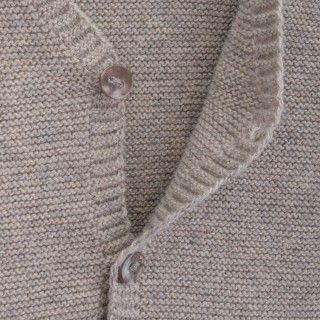 Casaco recém-nascido tricot Earl 5609232437285