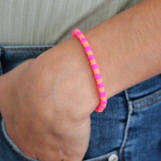 Bracelet with colored beads 5609232512722