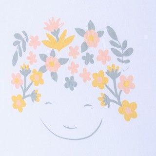 T-shirt manga curta bebé algodão Forest 5609232454251