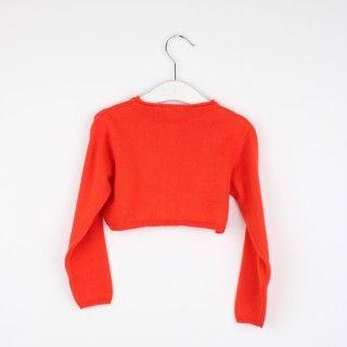 Bolero menina tricot Clara 5609232546628