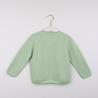 Casaco tricot decote redondo 5609232546581