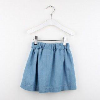 Chambray skirt 5609232553077