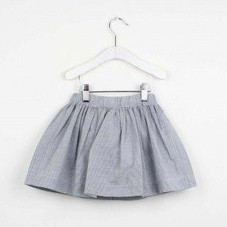 Stripes elastic waist skirt 5609232552391
