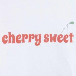 T-shirt manga curta menina algodão Cherry sweet 5609232454084