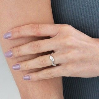 Waves silver ring 5609232519431