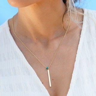 Shades of Ocean silver necklace 5609232578186