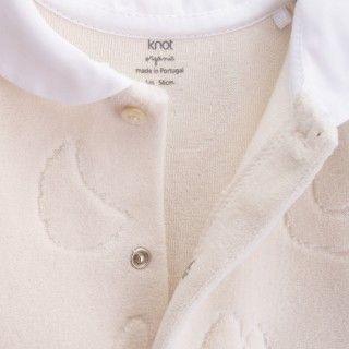 Babygrow recém-nascido algodão orgânico Learning 5609232510414