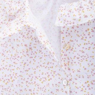 Blusa algodão orgânico Soft Flowers 5609232483381