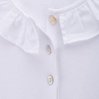 Pólo menina algodão orgânico Honey 5609232490259