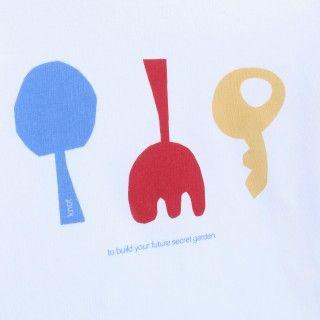 T-shirt manga comprida bebé Future Secret Garden 5609232503171