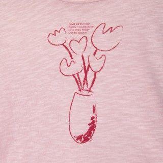 T-shirt manga comprida menina algodão Garden Shed 5609232486030