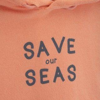 Sweatshirt menino algodão orgânico Save our seas 5609232559048